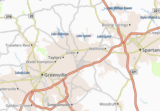 Victor Mills Map