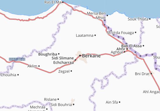 Berkane Map
