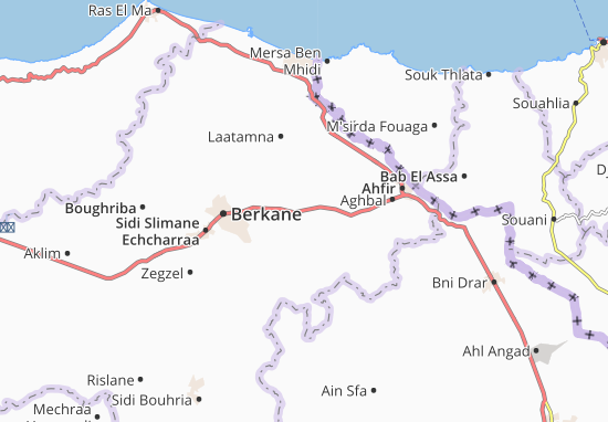 Mappe-Piantine Ain Erreggada