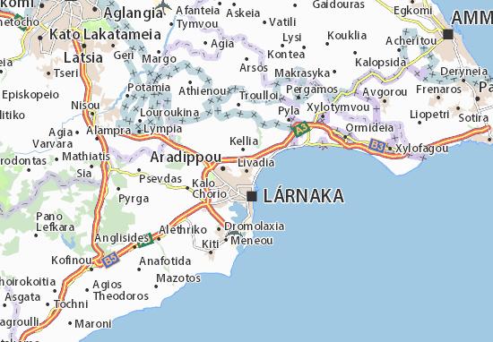 Mapa Plano Livadia