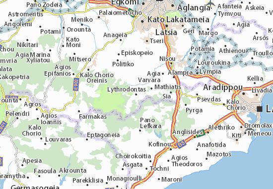 Mappe-Piantine Lythrodontas