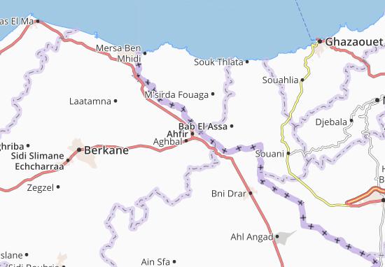 Mapa Plano Ahfir