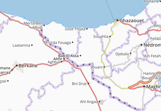 Mapa Plano Bab El Assa