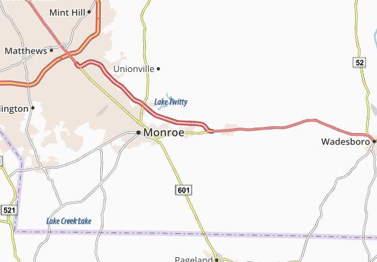 Wingate Map