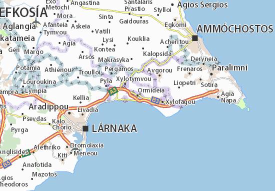 Mapas-Planos Ormideia