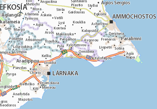 Mapa Plano Ormideia