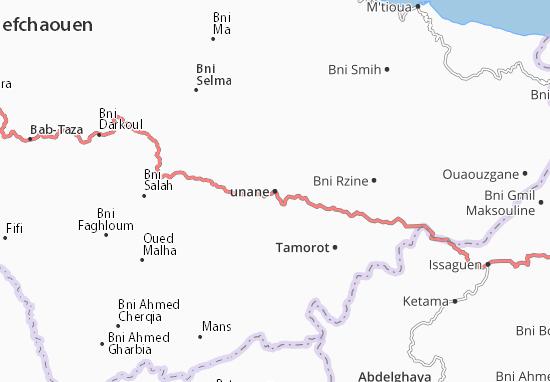 Mapas-Planos Iounane