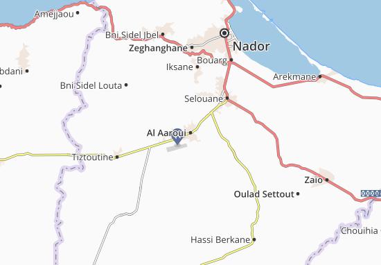 Carte-Plan Al Aaroui