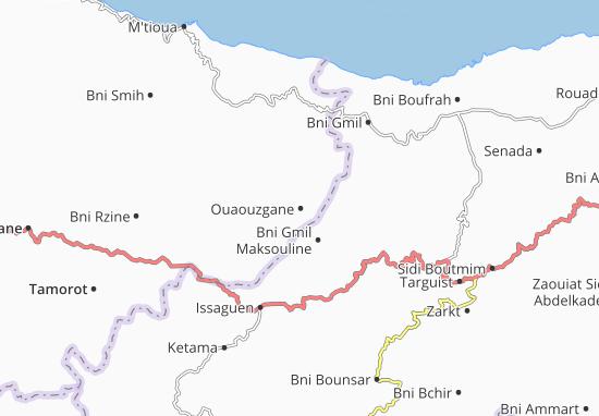 Carte-Plan Ouaouzgane