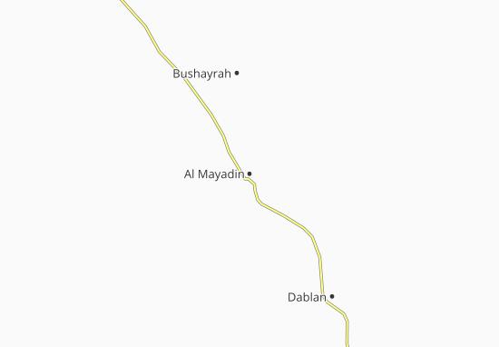Carte-Plan Al Mayadin