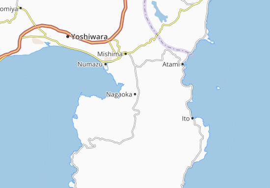 Carte-Plan Nagaoka