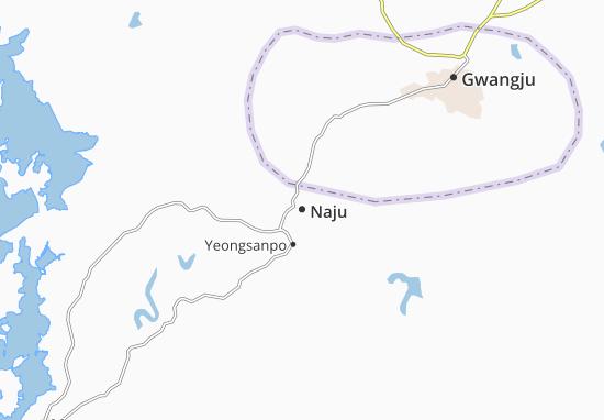 Naju Map