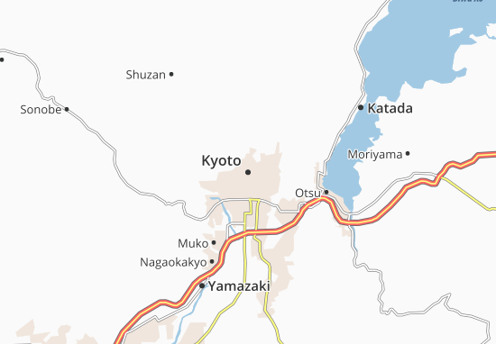 Mapas-Planos Kyoto