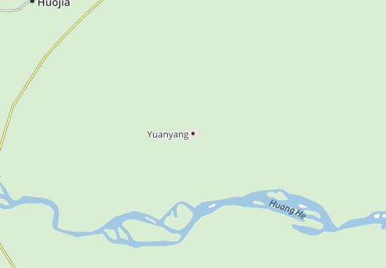 Yuanyang Map