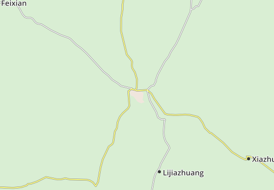 Linyi Map
