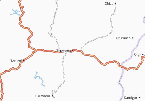 Mapas-Planos Tsuyama