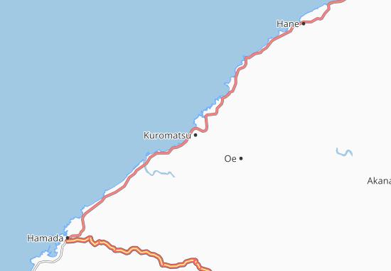 Mapas-Planos Kuromatsu