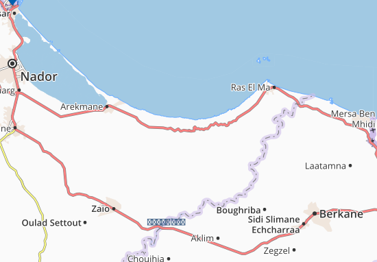 Carte-Plan Al Barkanyene