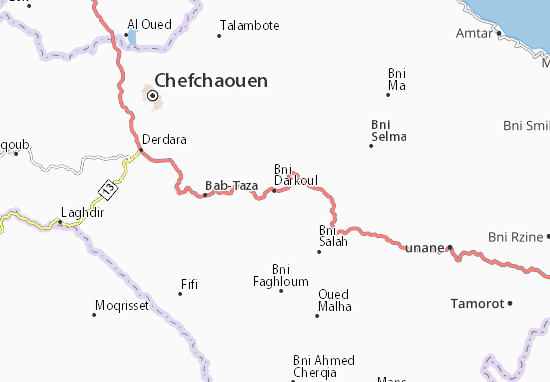 Mapa Plano Bni Darkoul