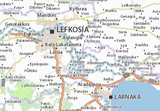 Karte Stadtplan Pyrogi