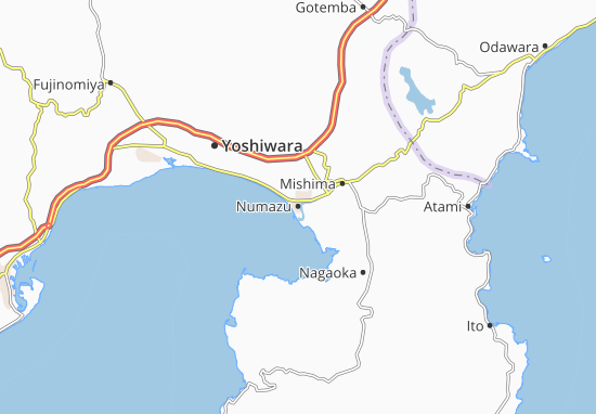 Numazu Map