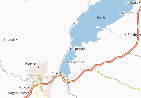 Kaart Plattegrond Katada