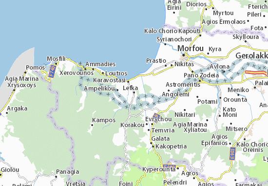 Mapas-Planos Lefka