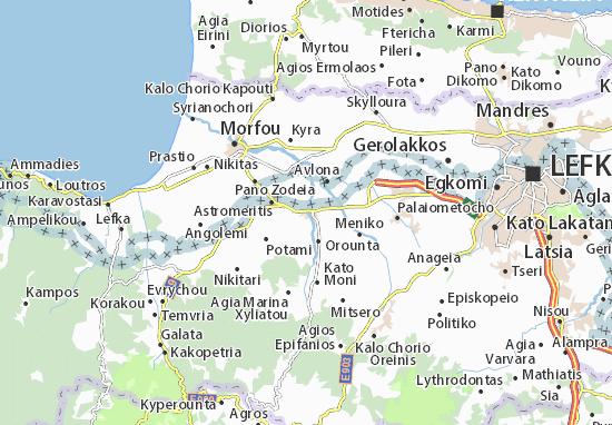 Peristerona Map