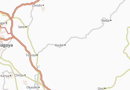 Mapa Plano Asuke