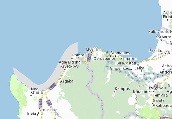 Karte Stadtplan Alevga