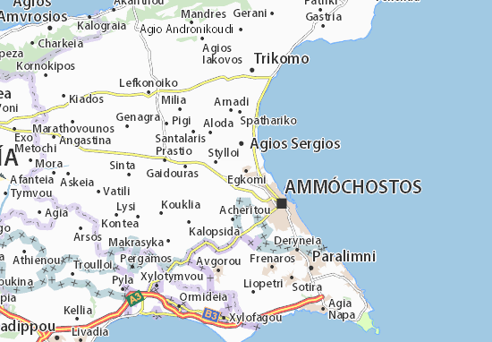 Mappe-Piantine Egkomi