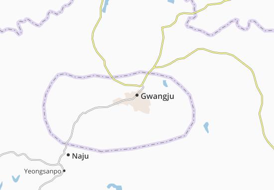 Mappe-Piantine Gwangju