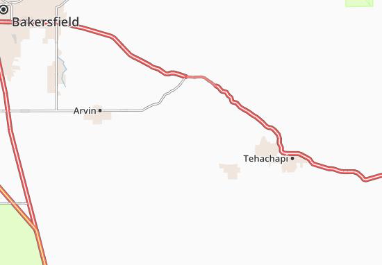 Bear Valley Springs Map