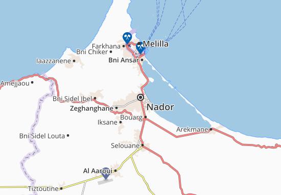 Nador Map