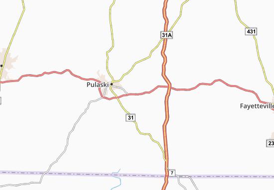 Aymett Town Map