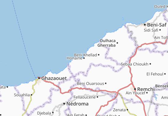 Mapas-Planos Honaine