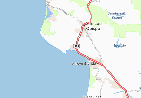Are You Looking For The Map Of Avila Beach Find Any Address On Or Calculate Your Itinerary To And From