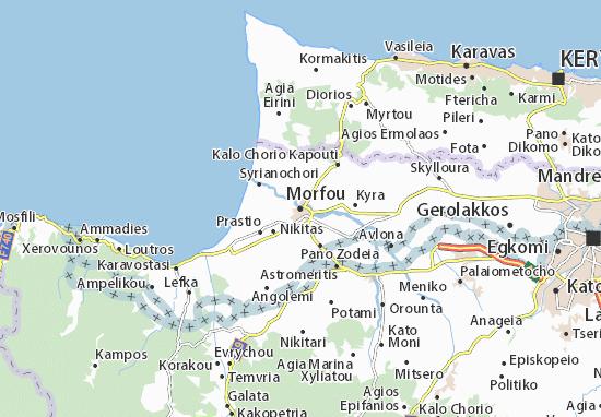 Mapas-Planos Morfou