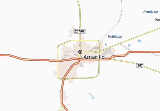 Carte-Plan Amarillo
