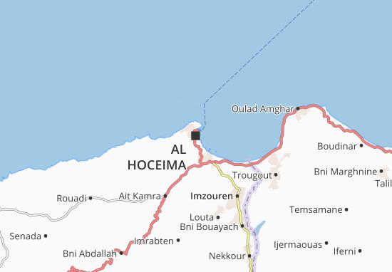 Mapa Al Hoceima