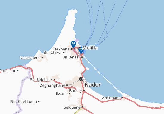 Mappe-Piantine Bni Ansar