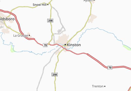 Kinston Map