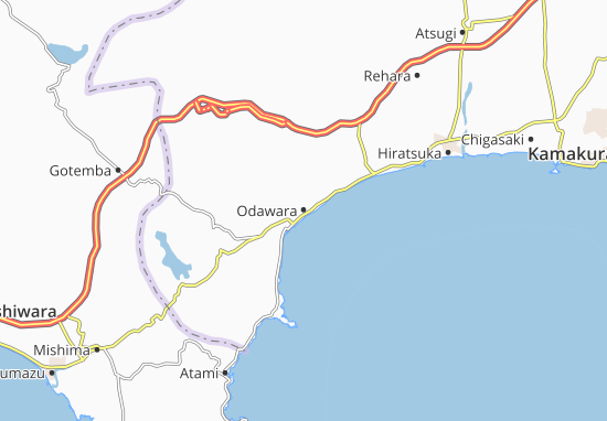Odawara Map
