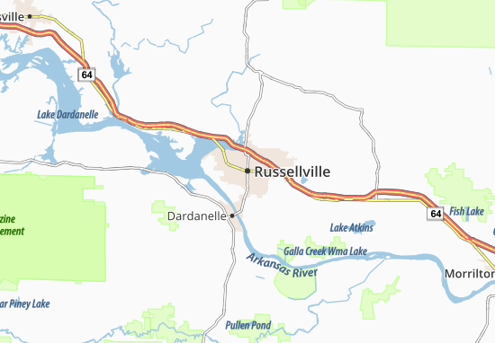 Russellville Arkansas Map.Russellville Map Detailed Maps For The City Of Russellville