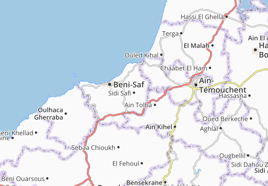 Carte-Plan Sidi Safi