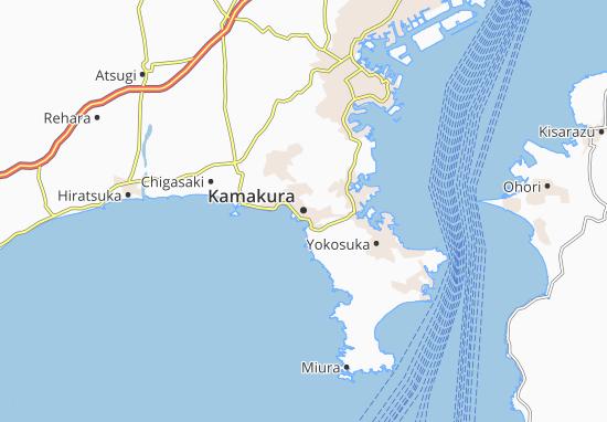 Mapas-Planos Kamakura