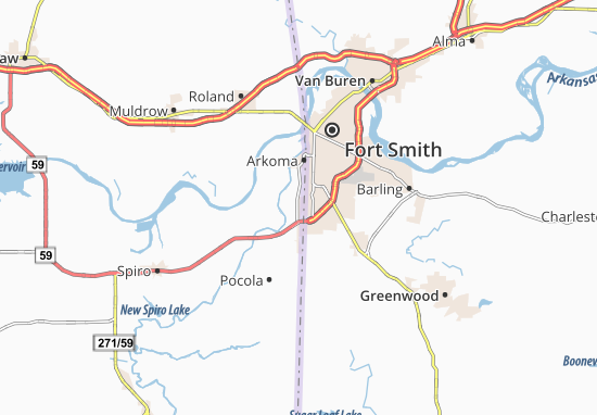 Pocola Map