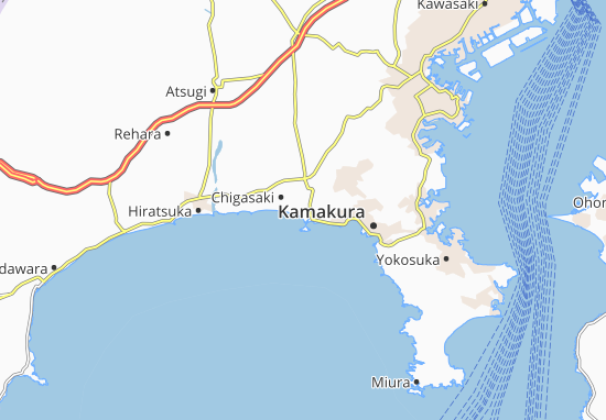 Mapa Plano Katase