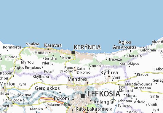 Mapas-Planos Kazafani