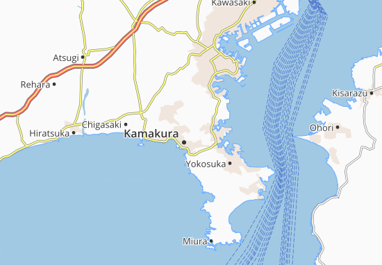 Mapa Plano Yokohama